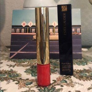 Estée Lauder Pure Color Lip and check summer glow